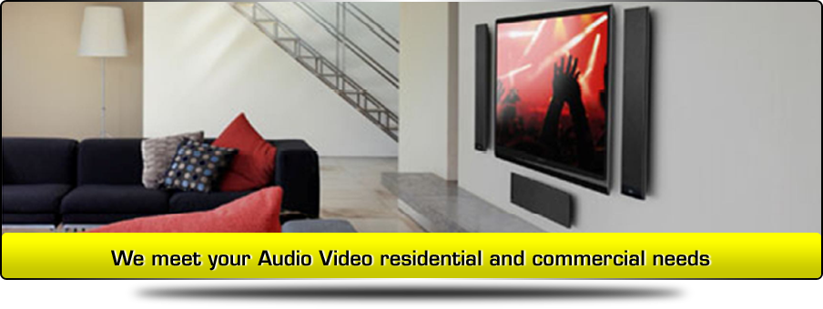 Home theater and sound system installation service
