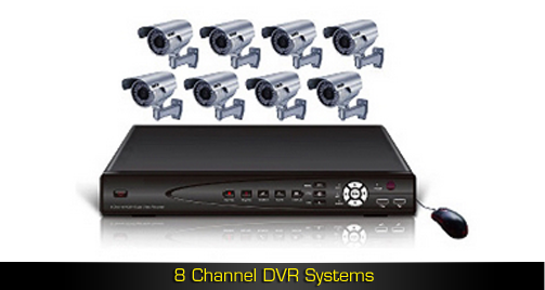 8 Channel DVR Systems