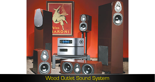 Wood Outlet Sound System